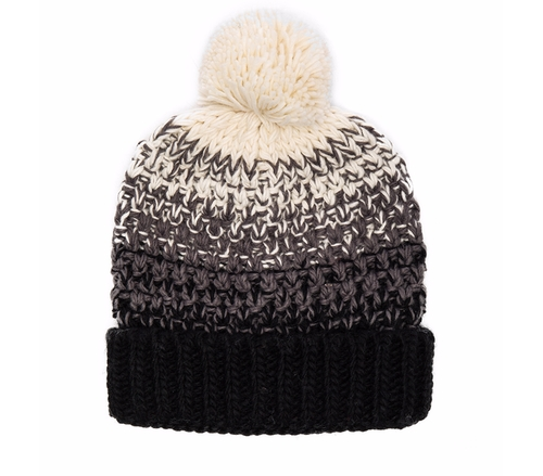 Seeded Ombre Beanie by Michael Stars in Keeping Up With The Kardashians - Season 12 Episode 8