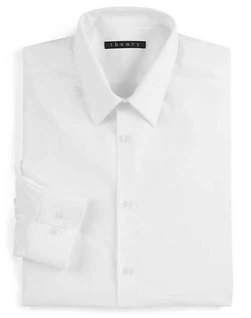 Slim-Fit Dover Sword Dress Shirt by Theory in Safe House