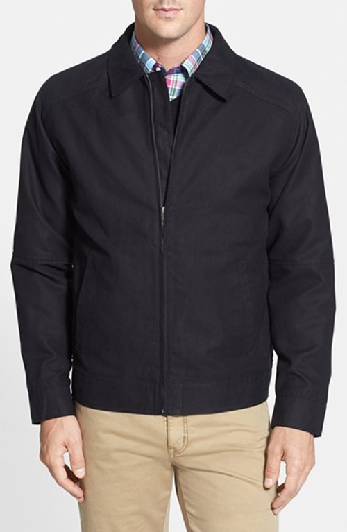 'Roosevelt' Water Resistant Full Zip Jacket by Cutter & Buck in Fight Club