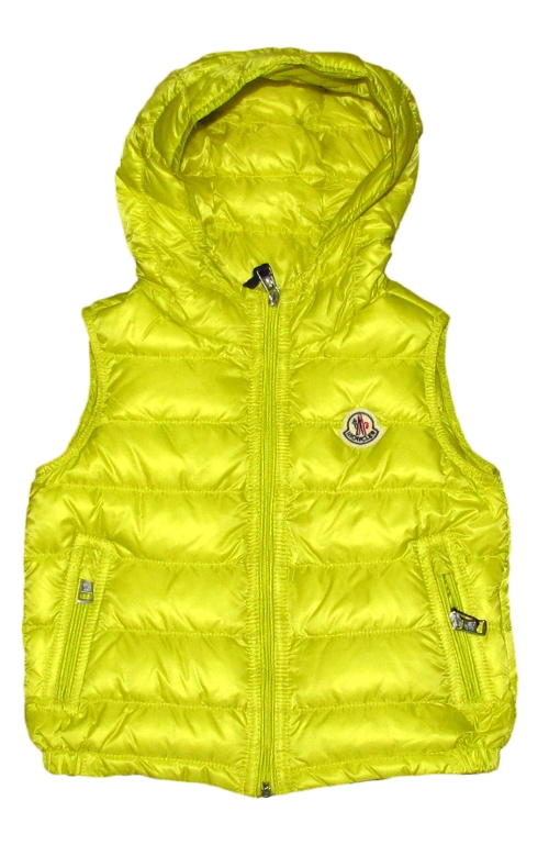Soft Down Vest with Hood by Moncler in No Escape