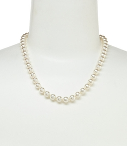 Pearl Pendant Necklace by Nadri Novelette in Easy A
