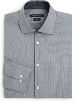 Micro-Check Dress Shirt by John Varvatos Star USA in Ocean's Eleven