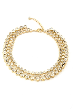 Crystal Choker Necklace by Int in Supergirl