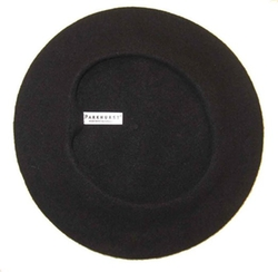Classic Wool Beret Hat by Parkhurst in Clueless