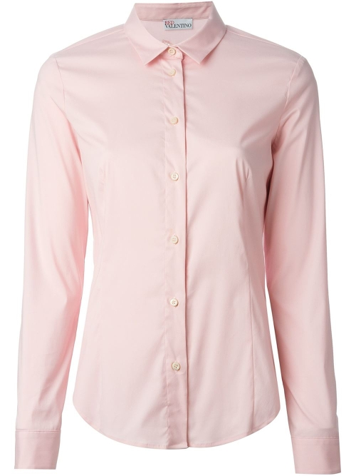 Appliqué Bow Shirt by Red Valentino in The Gift
