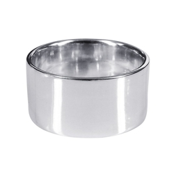 Wide Plain Band Sterling Silver Ring by Aeravida in Pretty Little Liars
