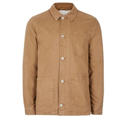 Faux Shearling Lined Shacket by Topman in The Flash