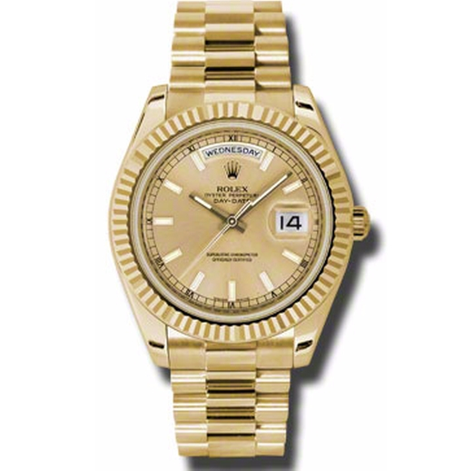 Oyster Perpetual Day-Date II Watches by Rolex  in Keeping Up With The Kardashians - Season 12 Episode 12