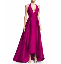 V Neck Open Back Gown by Coonek in Love, Rosie
