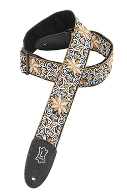 Jacquard Weave Hootenanny Guitar Strap by Levy's Leathers in Begin Again