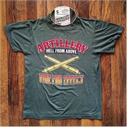 Artillery Hell From Above T-Shirt by Screen Stars in Keeping Up With The Kardashians