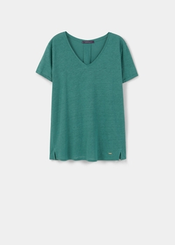 Linen T-Shirt by Mango in Lady Dynamite