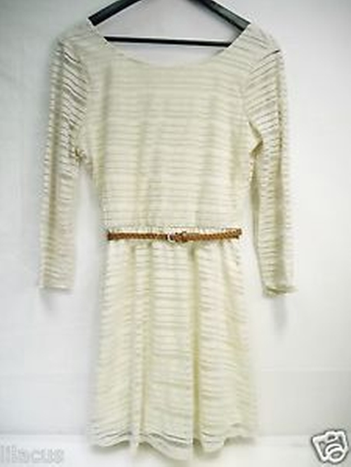 Shadow Stripe Dress by Lily Rose in Jane the Virgin - Season 2 Looks