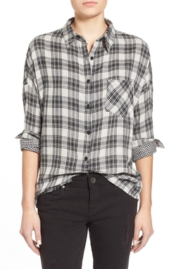 Double Face Plaid Shirt by Paper Crane in The Big Bang Theory