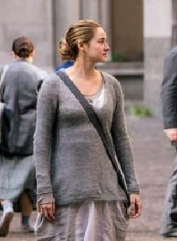 Custom Made Tris Prior Abnegation Sweater by Carlo Poggioli (Costume Designer) in Divergent