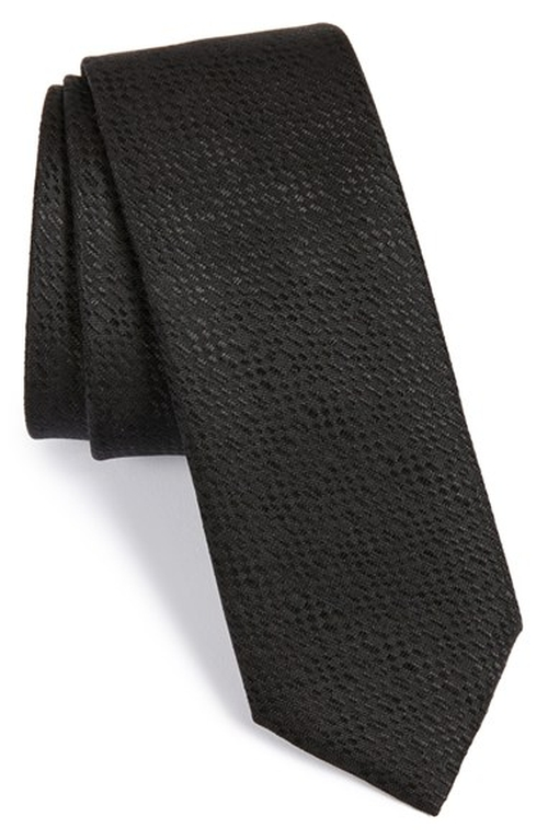 Textured Silk Tie by Hugo in Suits - Season 5 Episode 1