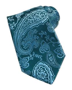 Paisley Silk Tie by Charvet in Mortdecai