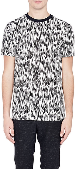 Abstract-Animal-Print T-Shirt by Lanvin in Empire
