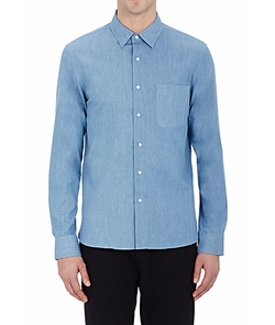 Chambray Shirt by Barneys New York in Teen Wolf