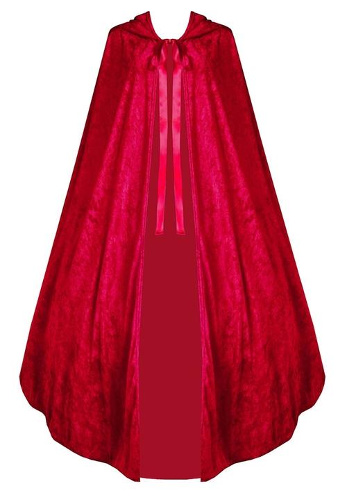 Medieval Renaissance Steampunk Velvet Cape Cloak by Victorian Vagabond in Pretty Little Liars - Season 6 Episode 10
