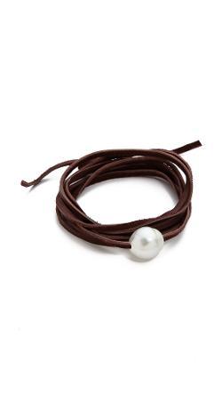 Single South Sea Wrap Bracelet by Pame Designs in Warm Bodies