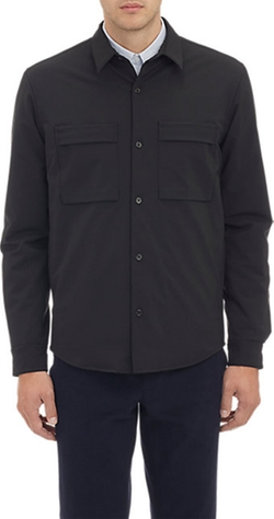 Ericoe Shirt Jacket by Theory in Straight Outta Compton