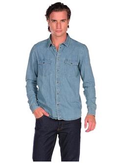 Sam Denim Button Down Shirt by Cheap Monday in Jurassic World