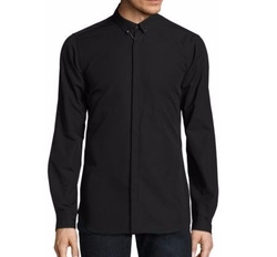 Solid Button-Down Shirt by The Kooples Sport in Billions