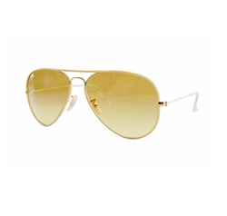 Full Color Aviator Sunglasses by Ray-Ban in CHIPs