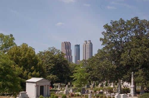Oakland Cemetery Atlanta, Georgia in Furious 7