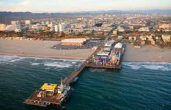 Santa Monica, California by Santa Monica Pier Bait and Tackle in Keeping Up With The Kardashians