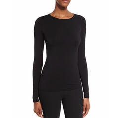 Crewneck Long-Sleeve Tee by Ralph Lauren Collection in Proud Mary