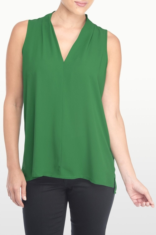 Modern Sleeveless Blouse by NYDJ in The Flash - Season 2 Episode 1