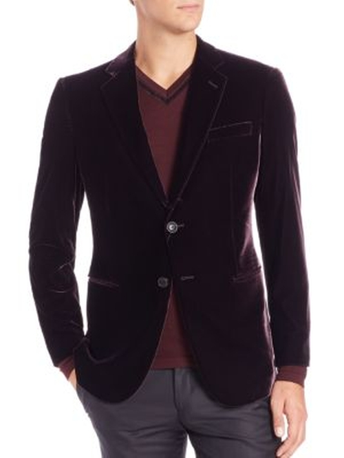 Velvet Blazer by Giorgio Armani in The Boss