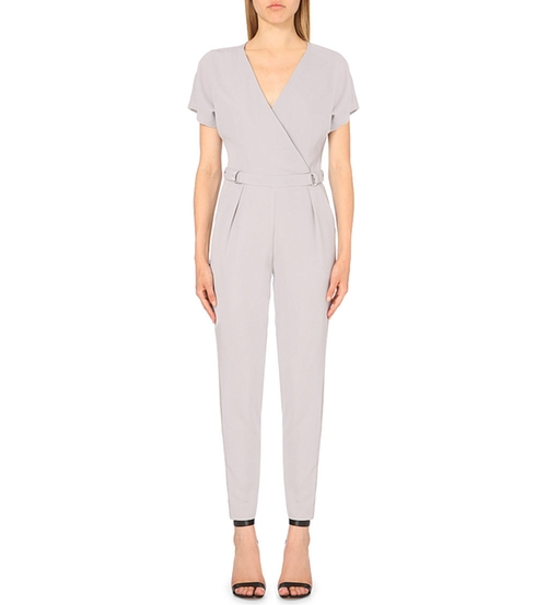 D-Ring Wrap Jumpsuit by Warehouse in Empire - Season 2 Episode 2