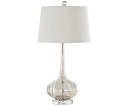 Milano Antique Mercury Glass Table Lamp by Regina Andrew in Ricki and the Flash