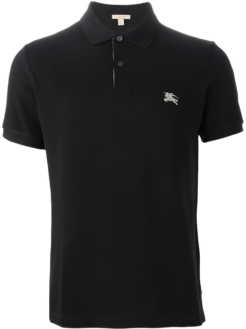 Embroidered Logo Polo Shirt by Burberry Brit in Furious 7