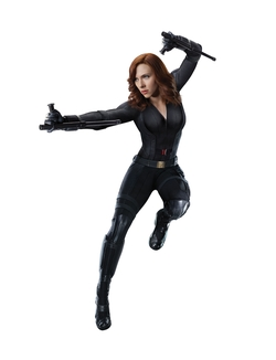 Custom Made Black Widow Civil War Costume by Judianna Makovsky (Costume Designer) in Captain America: Civil War