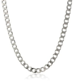 Wide Curb Link Necklace by Amazon Curated Collection in Only God Forgives