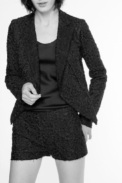 floral lace blazer black by Vanessa Bruno in Vampire Academy