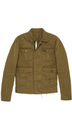 Twill Leather Jacket by Dsquared2 in While We're Young