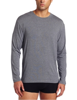 Long Sleeve Crew Neck Top by Derek Rose in Supergirl