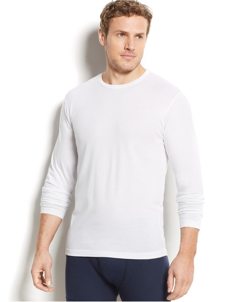 Men's Long Sleeve Crew-Neck T-Shirt by Alfani in Horrible Bosses 2
