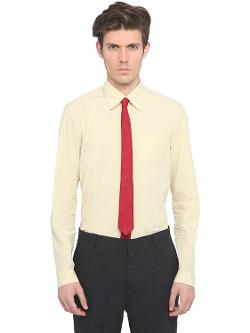 COTTON POPLIN POCKET SHIRT by BURBERRY PRORSUM in Yves Saint Laurent