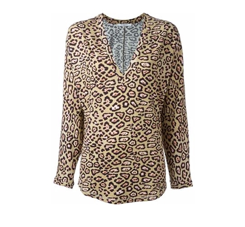 Leopard Print Top by Givenchy in Empire - Season 3 Episode 2