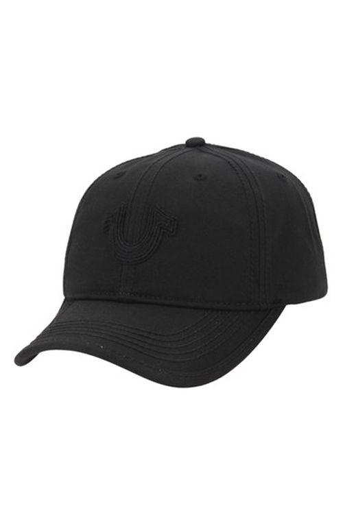 Felt Patch Baseball Cap by True Religion Brand Jeans in Triple 9