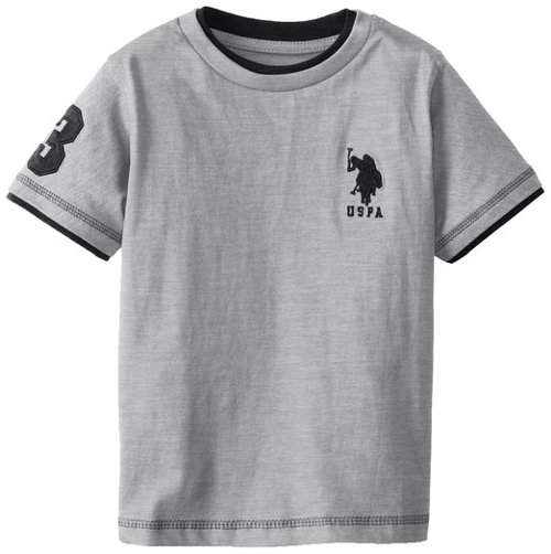 Little Boys' Short Sleeve Double Crew T-Shirt by U.S. Polo Assn. in If I Stay