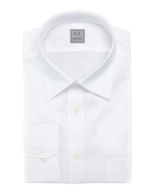 Solid Basic-Fit Dress Shirt by Ike Behar in Kingsman: The Secret Service
