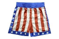 Apollo Creed Boxing Trunks by Trick Or Treat Studios in Rocky IV