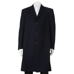 Wool-Blend Overcoat by Billy London in Master of None